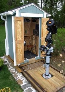 Bruce C. Backyard Observatory