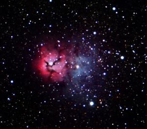 Trifid-Nebula..Messier-20..
