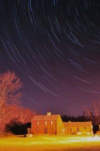 Willard-House-Star-Trails-Len-DiPInto-11 17 2009