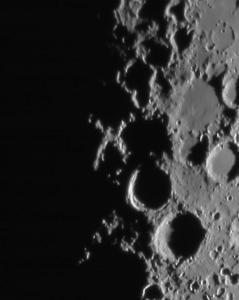 Moon X closeup by John LeFave